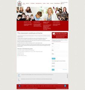 houstonhometutoring.com website