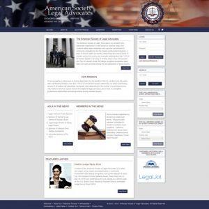 societyoflegaladvocates.org website